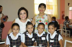 02102015 Mariana, Lupita, Lluvia, Fany, Chepis y Lupis.