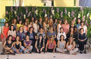 02102015 CELEBRAN ANIVERSARIO.  Las damas pertenecientes al Club de Jardinería La Rosa, se reunieron para festejar veinte años de haberse integrado