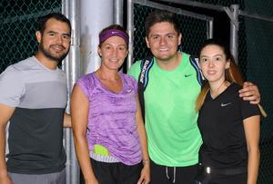02102015 Jorge, La Güera, Héctor y Brenda