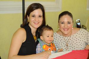 03102015 EN RECIENTE EVENTO.  Marisol, Daniel y Paty.