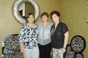 03102015 JARDINERAS.  Elvira, Alejandra y María Elena.