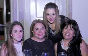 09102015 Arantza, Rocío, Flor y Edith.