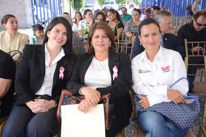 09102015 Marcela Cepeda, Gabriela Fernández y Marlén Martínez.