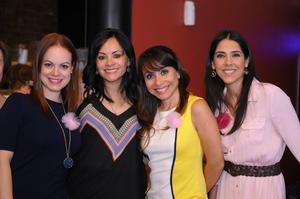 Brenda, Ana Lucía, Nidia y Desiré.