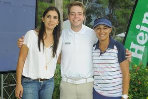 Cecilia Rodríguez, Fernando Peña y Pamela Ontiveros.