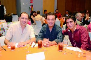Alfonso Soto, Antonio Sama y Gonzalo González.