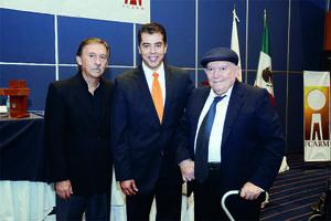 Germán Vargas, Víctor Hugo Torres y Samuel Alatorre.