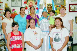 CELERBACIÓN. En el festejo a San Miguel Arcangel y el juramento de las materias fidencistas amor de los amores, que se llevó a cabo el 28 y 29 de septiembre en Las Dalias. Informes en el teléfono: 8718880357.