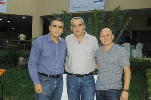 13102015 Francisco Obeso, Ernesto Castro y Patricio Gutiérrez.
