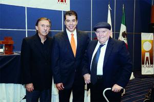 13102015 Germán Vargas, Víctor Hugo Torres y Samuel Alatorre.