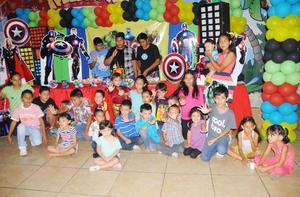 14102015 FELIZ CUMPLE.  Jesús Gerardo festejó sus cuatro años con una divertida celebración que le organizaron sus papás.
