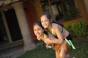 Ángela y Jimena