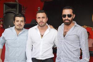 16102015 Mario Arratia, Daniel De Anda y Ricardo Orona.