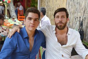 Juan Negrete y Víctor Carlos.