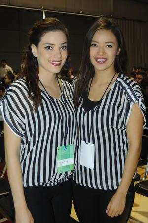 Nadia Romero y Janeth Ibarra.