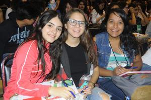 Ana, Belem y Laura.