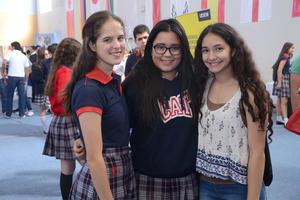 Natalia, Mariángela y Jessica