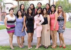 15102015 Paola López, Mariana Rentería, Sandra Vallejo, Guadalupe Nájera, Seidy Canales, Mayra Correa, Monse Rodríguez, Magaly Valenzuela, Karina y Nallely Romo.