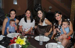 Valeria, Lupita, Ayla y Karen