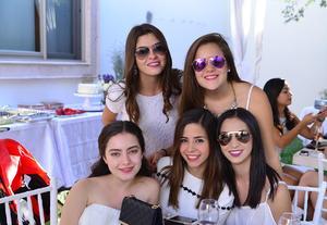 Luisa, Ale, Norma, Pau y Mayibe