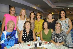 Lupita, Rosina, Diana, Vero, Maribel, Mili, Ivette, Adriana, Sofía y Claudia