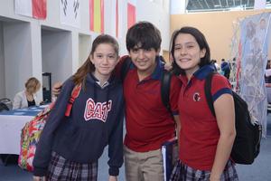 16102015 Samar, Sergio y Clara.