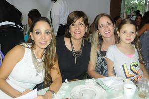 Paulina, Valeria, Esperanza y Ana Cris