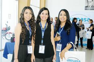 17102015 Alicia Torres, Mayela Nocker y Lupita Ortiz.