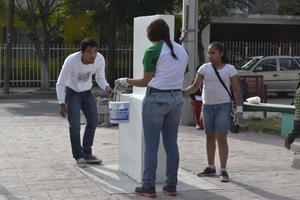 Embajada Mundial de Activistas por la Paz, realizó arbolización, limpieza y pintura en cinco espacios de Lerdo.