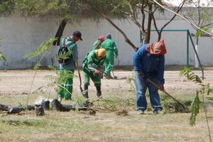 Cerca de 600 personas, en su mayoría empleados del municipio de Gómez Palacio participaron.