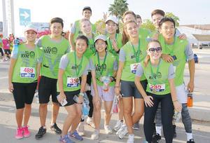 18102015 RUNNERS.  Programa Rotario de intercambio de jóvenes de Tailandia, Taiwán, Francia y Brasil en pasada carrera atlética.
