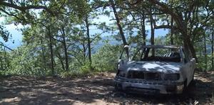 La agencia publicó en su cuenta de YouTube imágenes de los rastros del operativo de la Semar en Tamazula.
