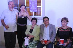 20102015 Jose Luis, Maggy, Margarita, Esteban y Leticia.