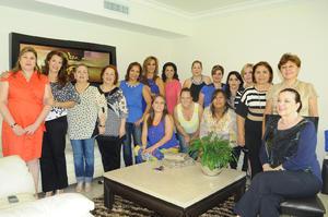20102015 JARDINERAS.  Junta de Presidentas pertenecientes a la Federación de Jardinería.