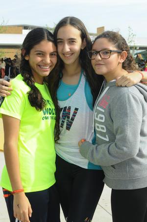 20102015 Pamela, Silvia y Valeria.