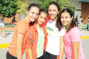 20102015 Regina, Mariam, Analú y Marifer.