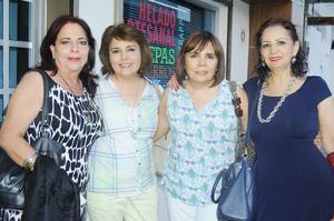 20102015 Chacha, Roxana, Miriam y Nany.