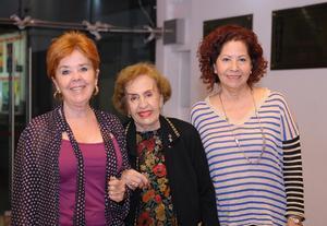 21102015 Cecy, Conchita y Luz María.