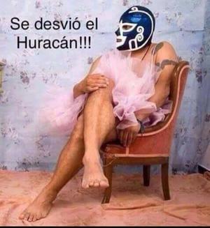 Otros dice que el Huracán se devió de rumbo.