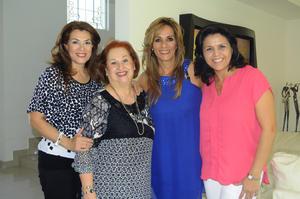 Jose, Tita, Nora y Magda.