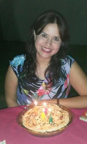 FELICIDADES. Anabel festejó su cumpleaños.
