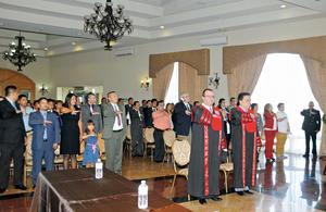 25102015 En este acto, se tomó protesta a los dos nuevos integrantes: Dr. Gerardo Márquez Guevara y Dr. Jesús Alejandro Mendoza Aguirre.