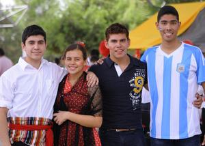 26102015 David, Ana, Sergio y Pedro.