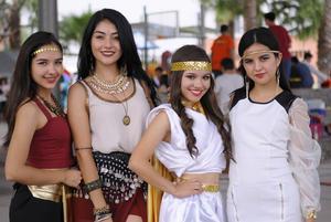 26102015 Frida, Karen, Miriam y Diana.