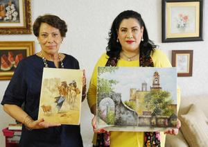 26102015 Margarita Anaya de Obeso y Lula Ramírez de Murra.