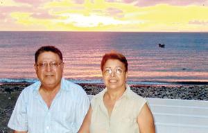 26102015 LINDA POSTAL.  Jose Ramón Ocón Acosta y Beatriz Pérez Aguirre.