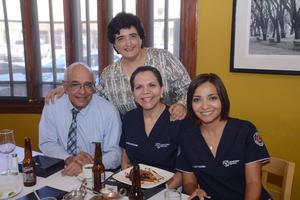 26102015 Daniel Mora, Patricia Montelongo, Julieta Saldaña y Rosa Martha Morales.