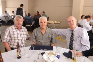 27102015 Miguel Carrizales, Humberto R. Banda y Ricardo Sarabia.