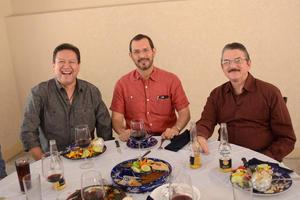 27102015 Jorge Galván, José Ramírez y Alejandro Campa.