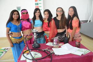28102015 Sofía, Karla, Andrea, Evelyn, Ana Sofía e Ivonne.